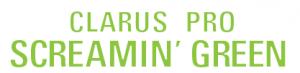 Clarus pro screamin green