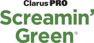 Screamin Green Logo-Clarus PRO-black and green - big