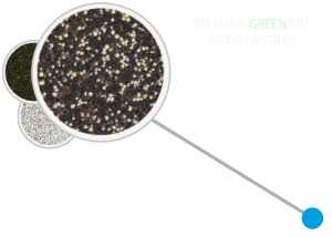 RELIABLE GREEN-UP · LONG LASTING